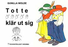 Cover for Totte klär ut sig - Barnbok med tecken för hörande barn