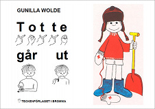 Cover for Totte går ut - Barnbok med tecken för hörande barn