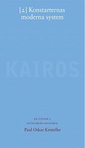 Cover for Konstarternas moderna system