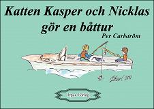 Cover for Katten Kasper och Nicklas gör en båttur