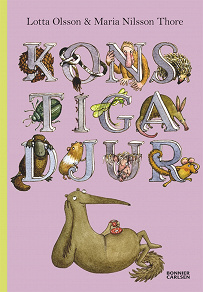 Cover for Konstiga djur