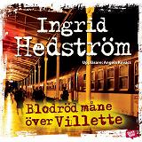 Cover for Blodröd måne över Villette
