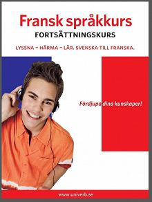 Cover for Fransk språkkurs fortsättningskurs