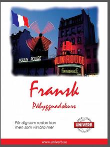 Cover for Fransk språkkurs påbyggnadskurs