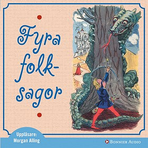 Cover for Fyra folksagor
