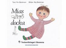 Cover for Mias docka - Barnbok med tecken för hörande barn