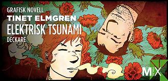 Cover for Elektrisk tsunami : grafisk novell