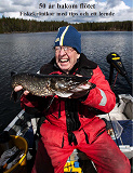 Cover for 50 år bakom flötet - Fiskekrönikor med tips och ett leende