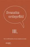 Cover for Svenska ordspråk : III