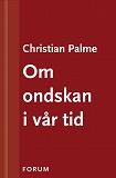 Cover for Om ondskan i vår tid