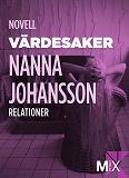 Cover for Värdesaker : novell