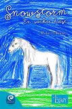 Cover for Snowstorm, en vacker häst