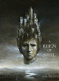 Cover for A Reign of Steel (Book #11 in the Sorcerer's Ring)