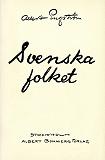 Cover for Svenska folket