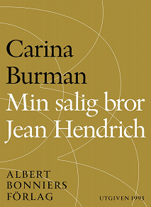 Cover for Min salig bror Jean Hendrich