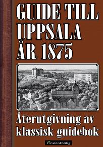 Cover for Guide till Uppsala 1875