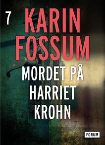 Cover for Mordet på Harriet Krohn