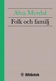 Cover for Folk och familj