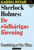 Cover for Sherlock Holmes: De rödhårigas förening.