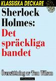 Cover for Sherlock Holmes : Det spräckliga bandet