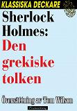 Cover for Sherlock Holmes: Den grekiske tolken