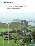 Cover for Kulturarv og økosystemtjenester : Sammenhenger, muligheter og begrensninger