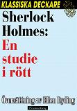 Cover for Sherlock Holmes: En studie i rött