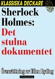 Cover for Sherlock Holmes: Det stulna dokumentet