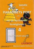 Cover for Sagan om Paradisets port 4. Den förtrollade spegeln