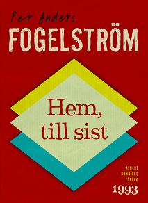 Cover for Hem, till sist
