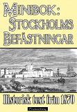 Cover for Skildring av Stockholms befästningar år 1870 – minibok med historisk text