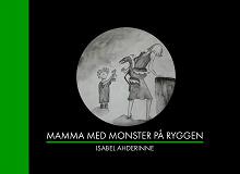 Cover for Mamma med monster på ryggen