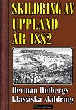 Cover for Skildring av Uppland år 1882