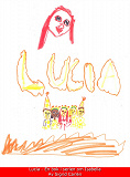 Cover for Lucia