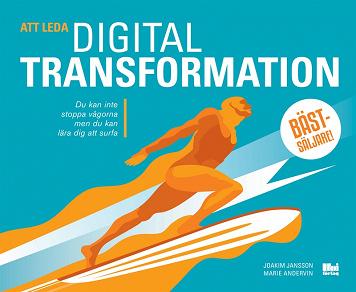 Cover for Att leda digital transformation
