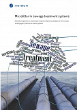 Cover for Microlitter in sewage treatment systems