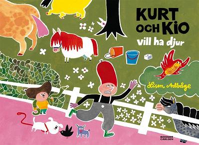 Cover for Kurt och Kio vill ha djur
