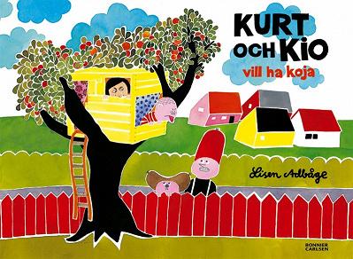 Cover for Kurt och Kio vill ha koja