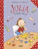 Cover for Julia äter allt