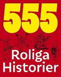 Cover for 555 roliga historier