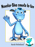 Cover for Monster Blue counts to ten