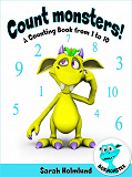 Cover for Count monsters! A Counting Book from 1 to 10