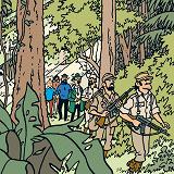 Cover for Tintin hos gerillan