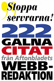Cover for Citatboken 4. Stoppa servrarna – och 222 andra galna citat från Aftonbladets webbredaktion