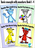 Cover for Basic concepts with monsters: Book 1 - 4