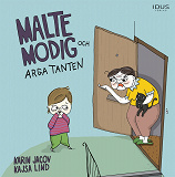 Cover for Malte Modig och arga tanten