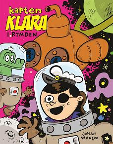 Cover for Kapten Klara i rymden