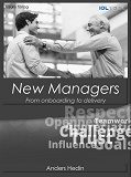 Cover for New Managers; From onboarding to delivery