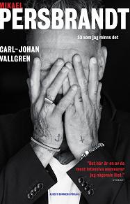 Cover for Mikael Persbrandt : Så som jag minns det