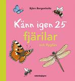 Cover for Känn igen 25 fjärilar och flygfän